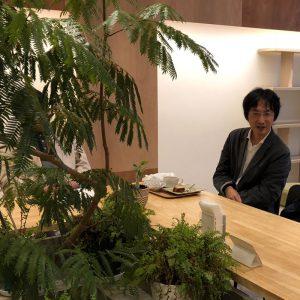 木立のカフェ1
